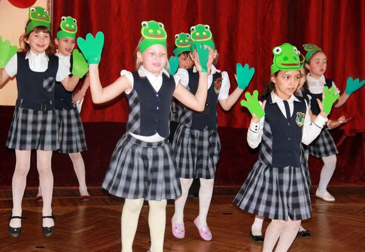 Ведущие на школьных конкурсах