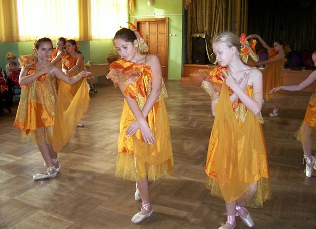 Общеразвивающие программы в дши хореография